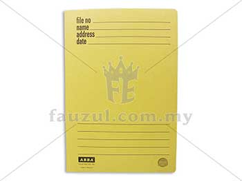 Abba Spring File Yellow 350