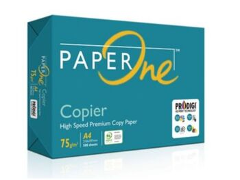 1 Box Paper One 70gm A4 5 Reams